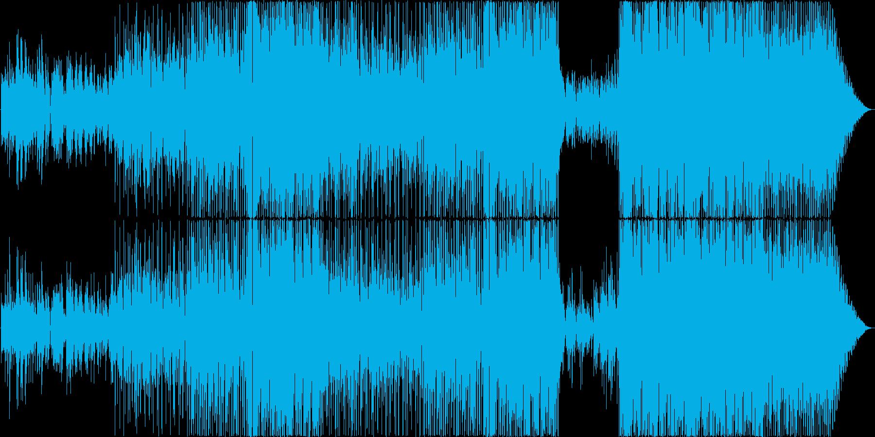 J-POP風卒業・思い出系感動インストの再生済みの波形