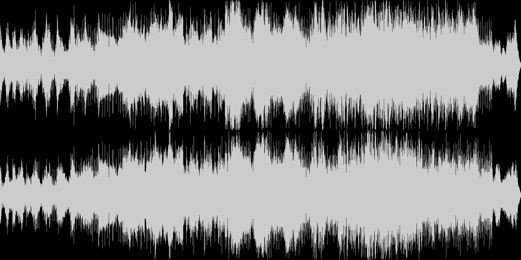 ドンと存在感たっぷりの感動ゴシックメタルの未再生の波形