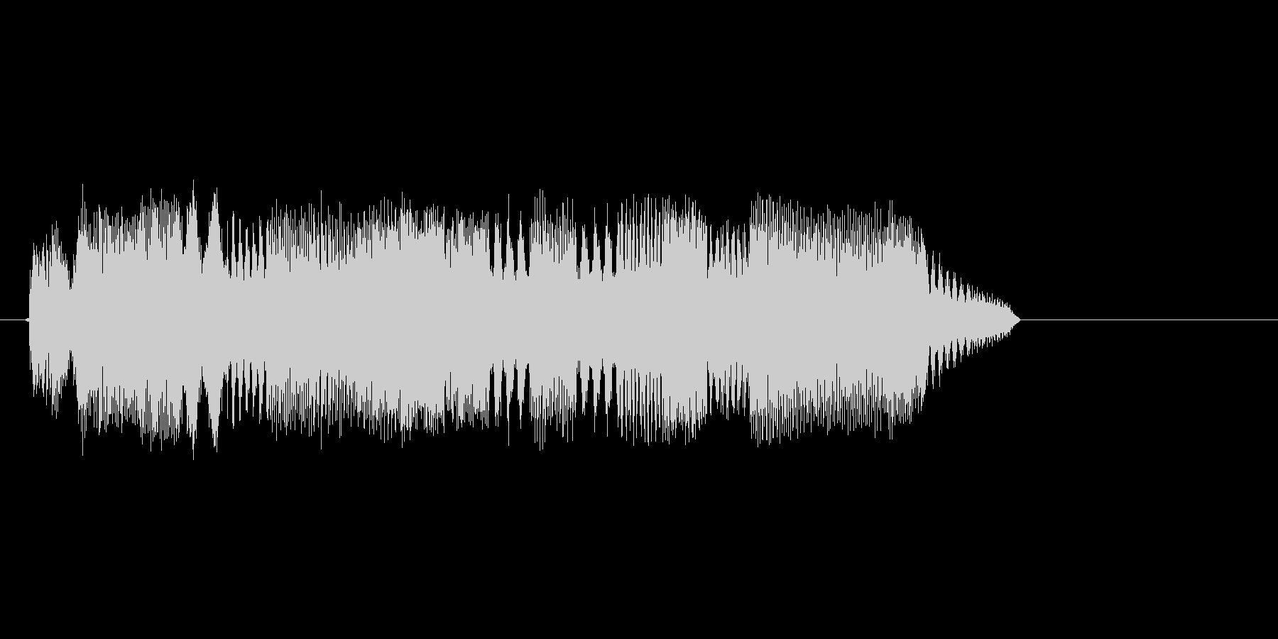 コンピューターのような効果音_その5の未再生の波形