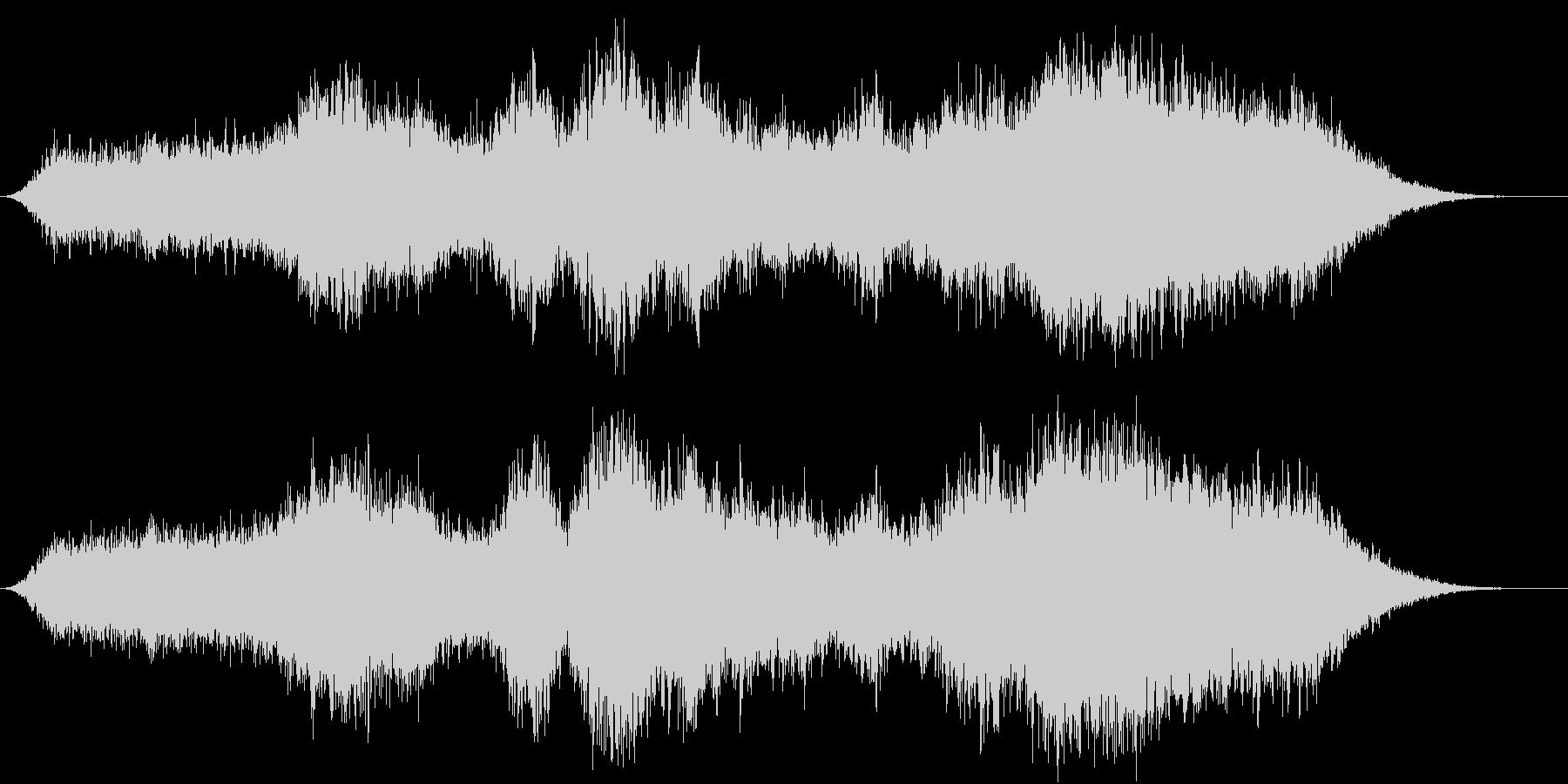キラキラ幻想的アンビエントの未再生の波形