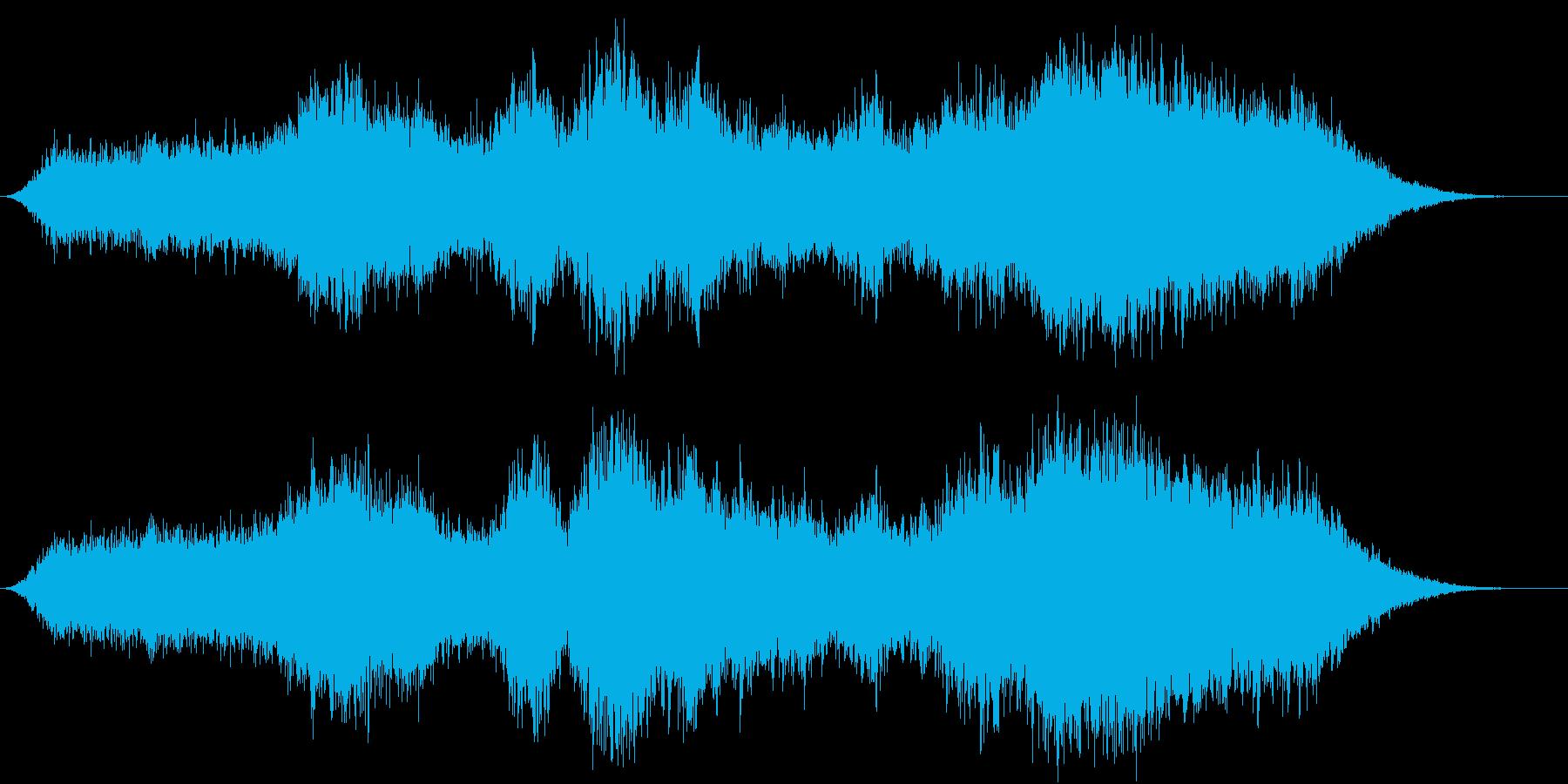 キラキラ幻想的アンビエントの再生済みの波形