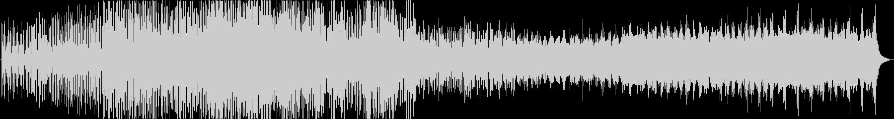 マリンバを中心としたミニマル風の曲です。の未再生の波形