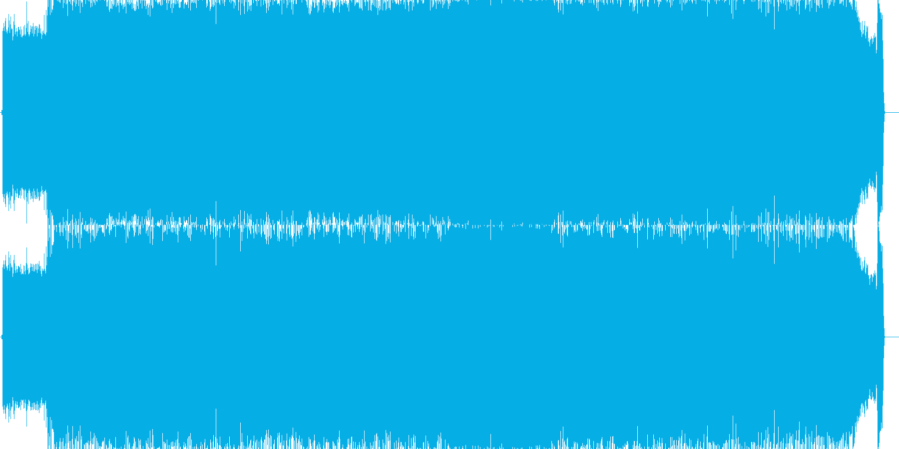 ダンスロック ロックバンドの再生済みの波形