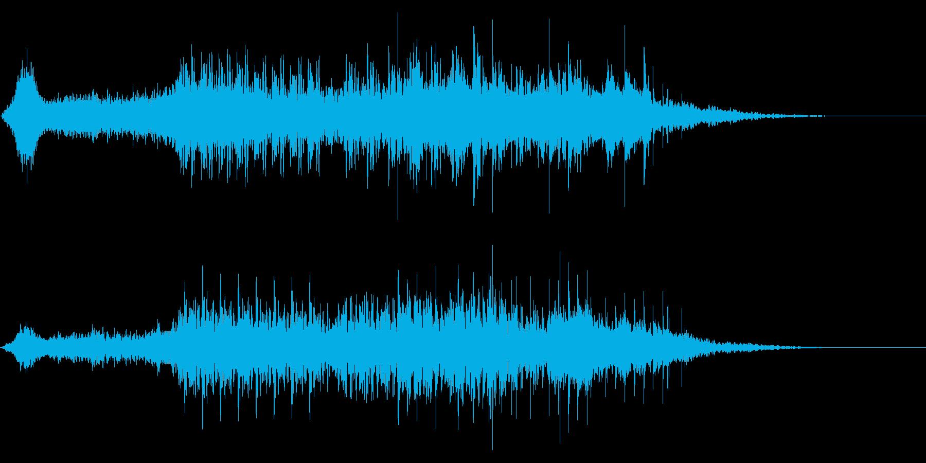 【ファンタジー】民族楽器・ストリングスの再生済みの波形