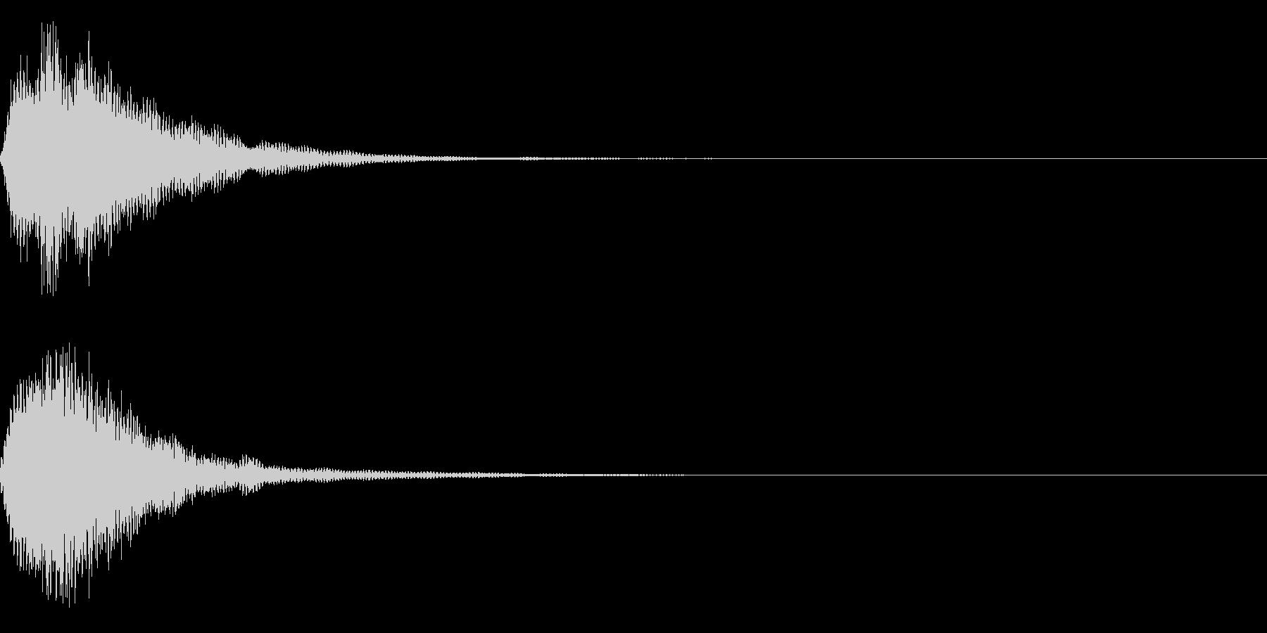 ピカーン!(アイデア、ロゴ等)の未再生の波形