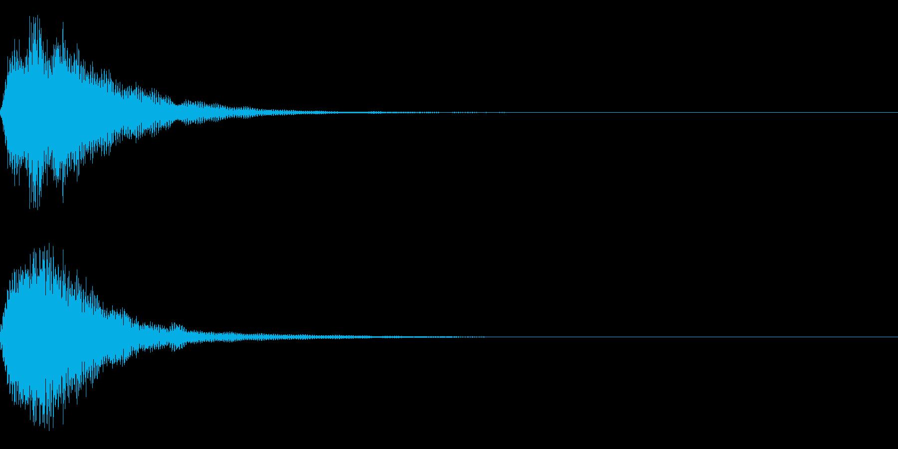 ピカーン!(アイデア、ロゴ等)の再生済みの波形
