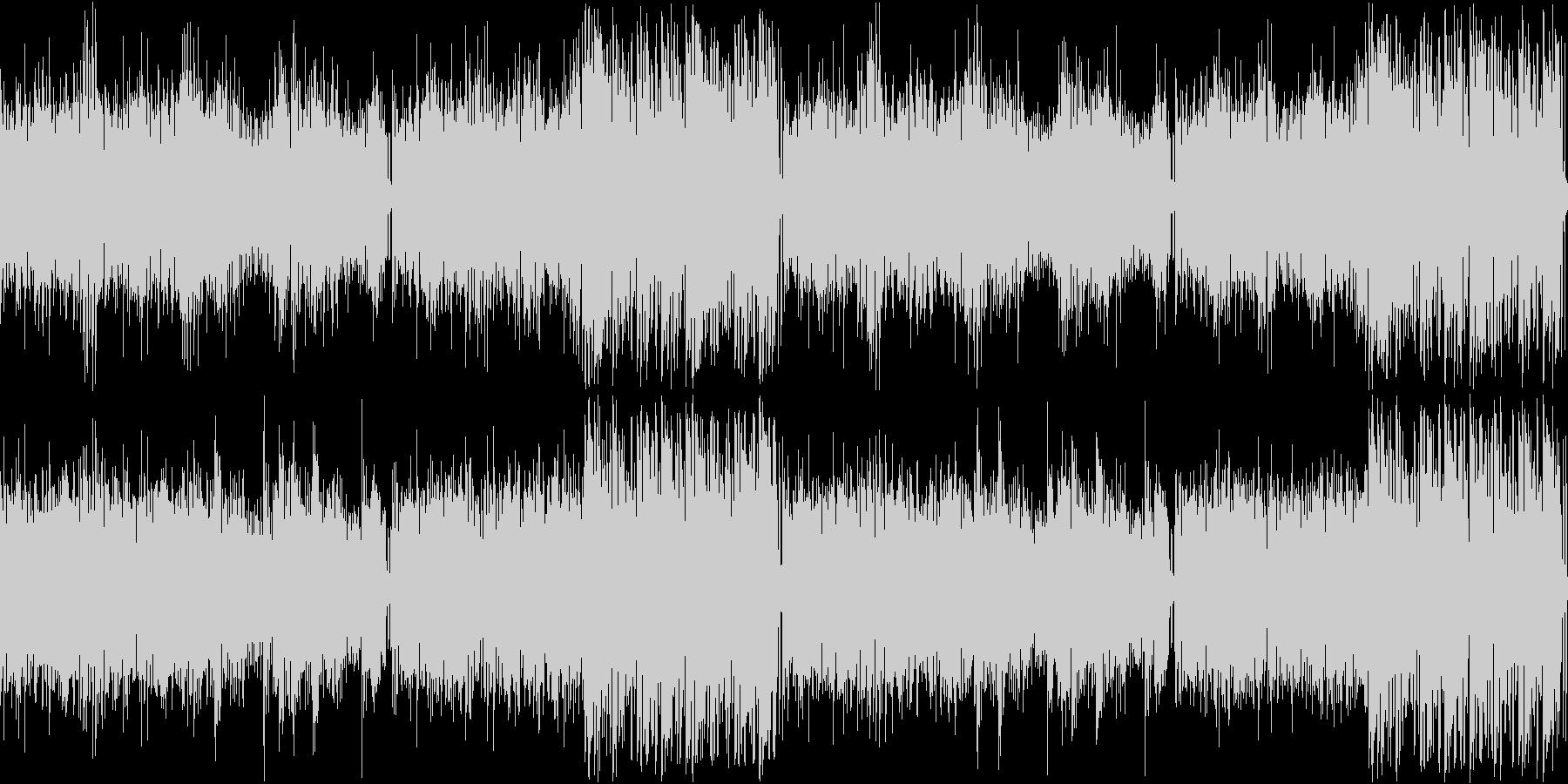 【ドラム抜き】疾走感のあるシリアスなア…の未再生の波形