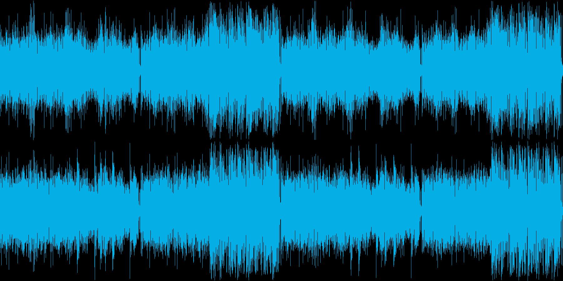 【ドラム抜き】疾走感のあるシリアスなア…の再生済みの波形