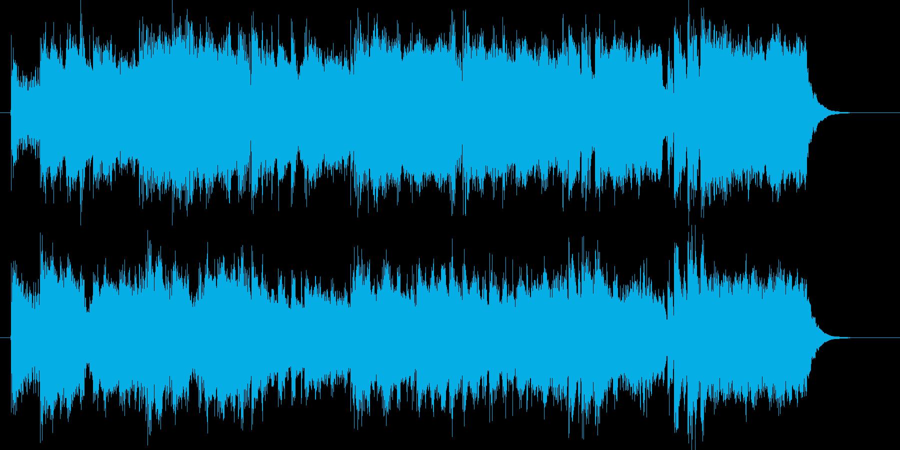 盛大で軽快なトランペットジングルの再生済みの波形