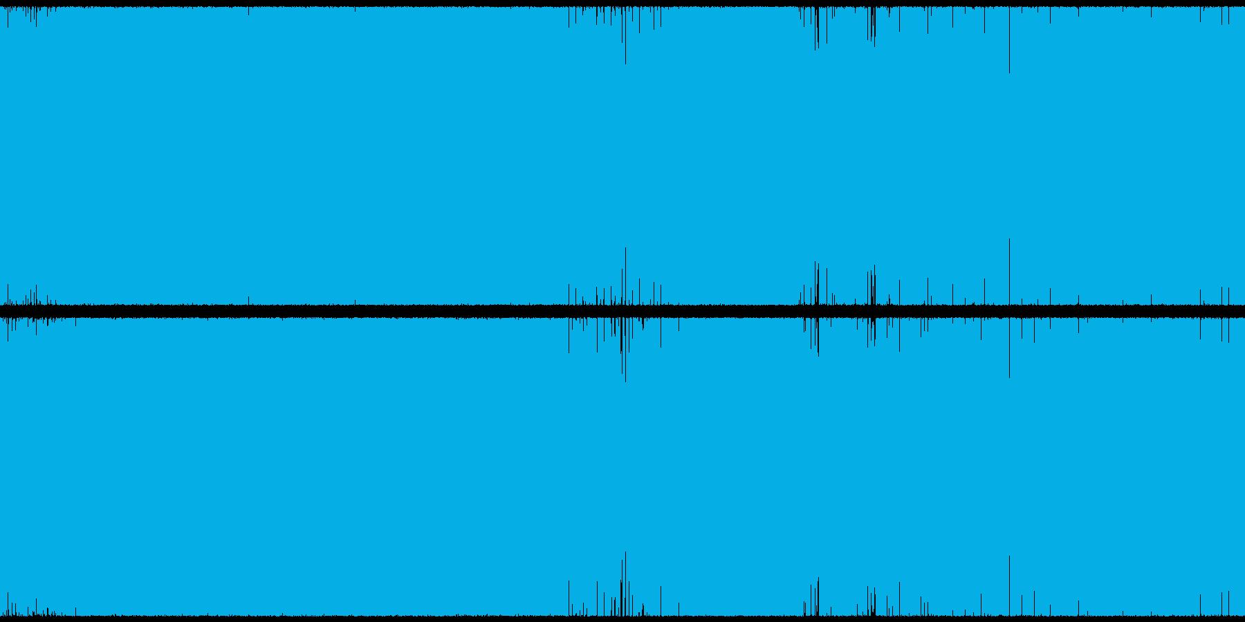 戦闘シーンに適したトランス・EDMループの再生済みの波形