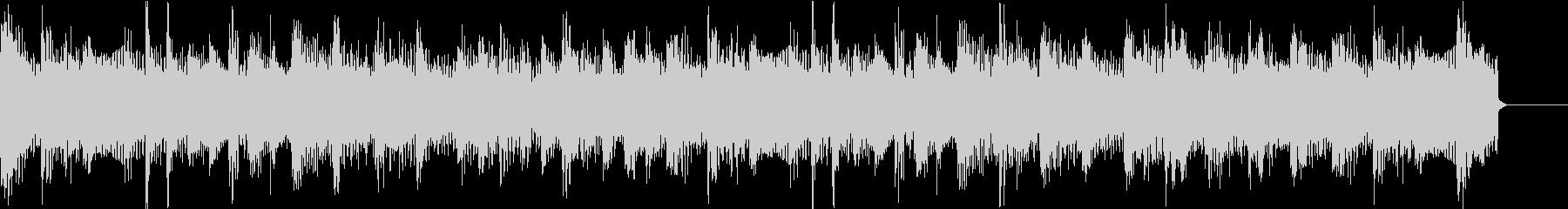 ロックテイストのBGMの未再生の波形