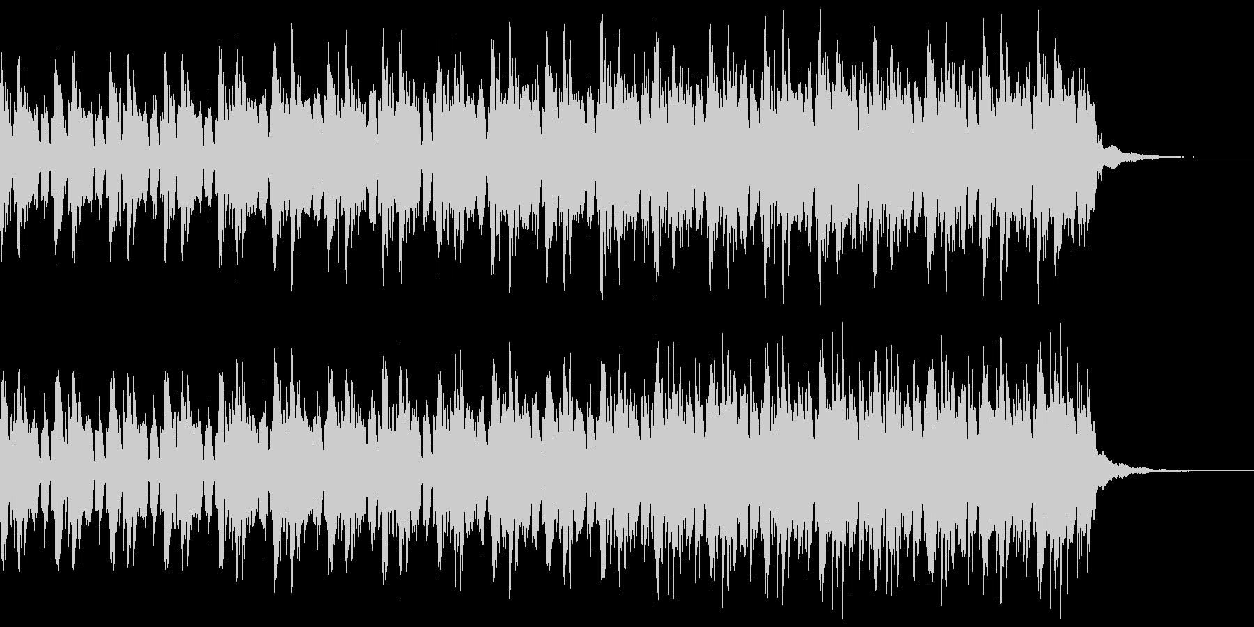 クールな場面のヒップホップのピアノの未再生の波形