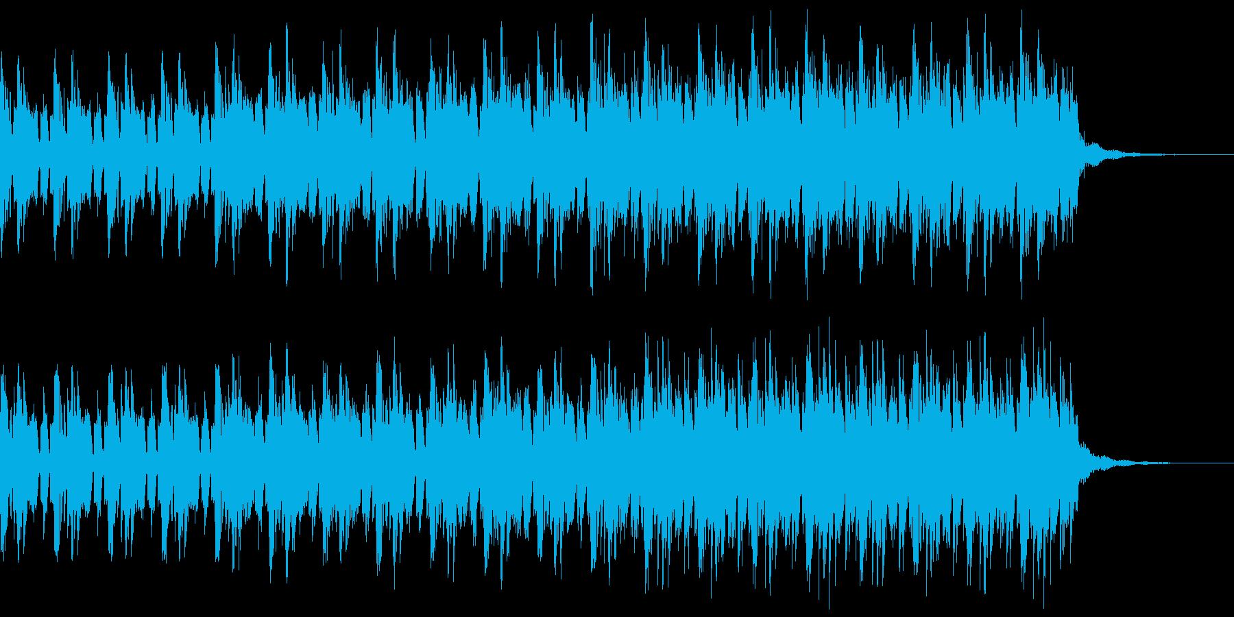 クールな場面のヒップホップのピアノの再生済みの波形
