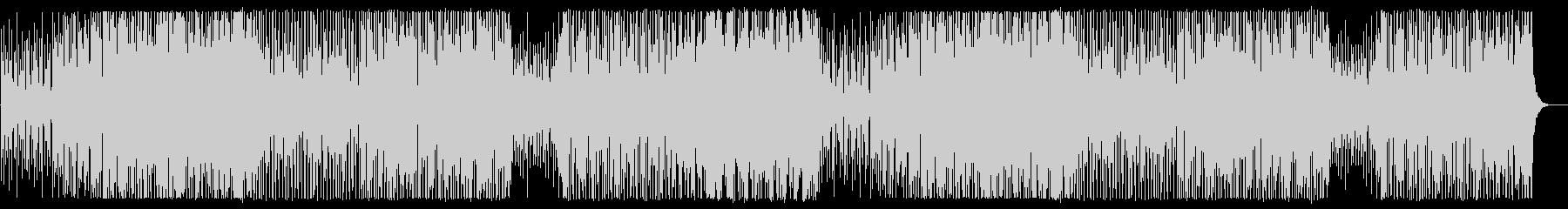 ベース音の効いた変則的ファンクの曲の未再生の波形