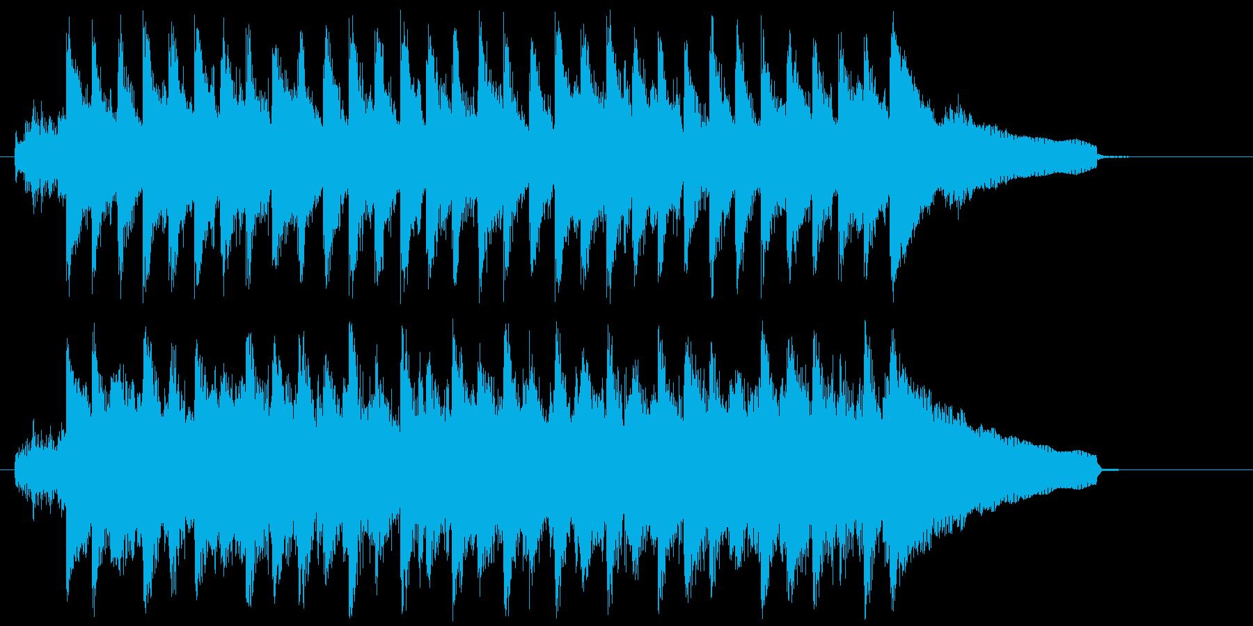 冬にピッタリなコーポレート系ジングル♪の再生済みの波形