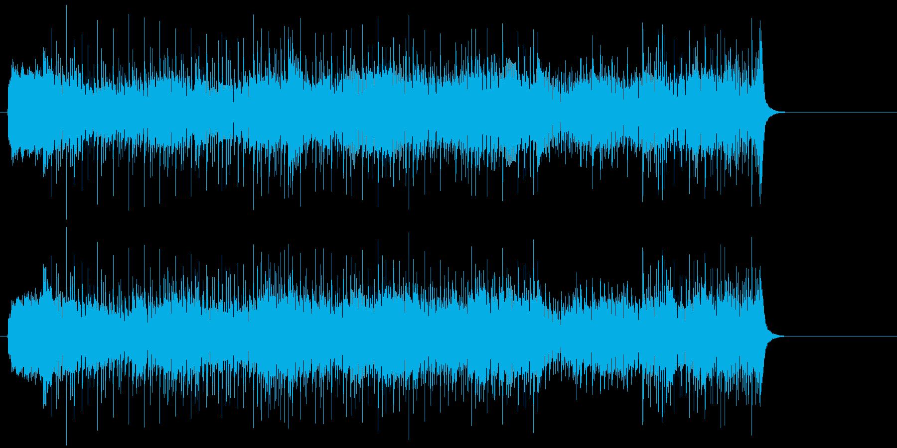 イケイケのノン・メロ版ポップの再生済みの波形
