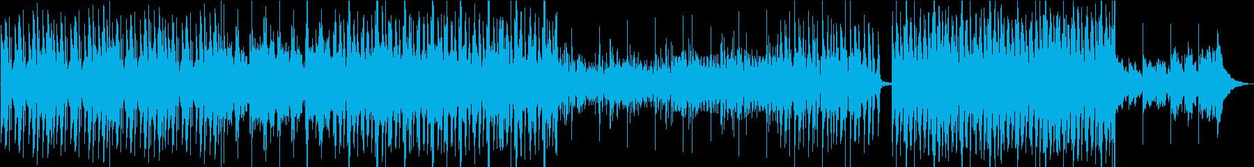 暗めのホラー系BGMの再生済みの波形