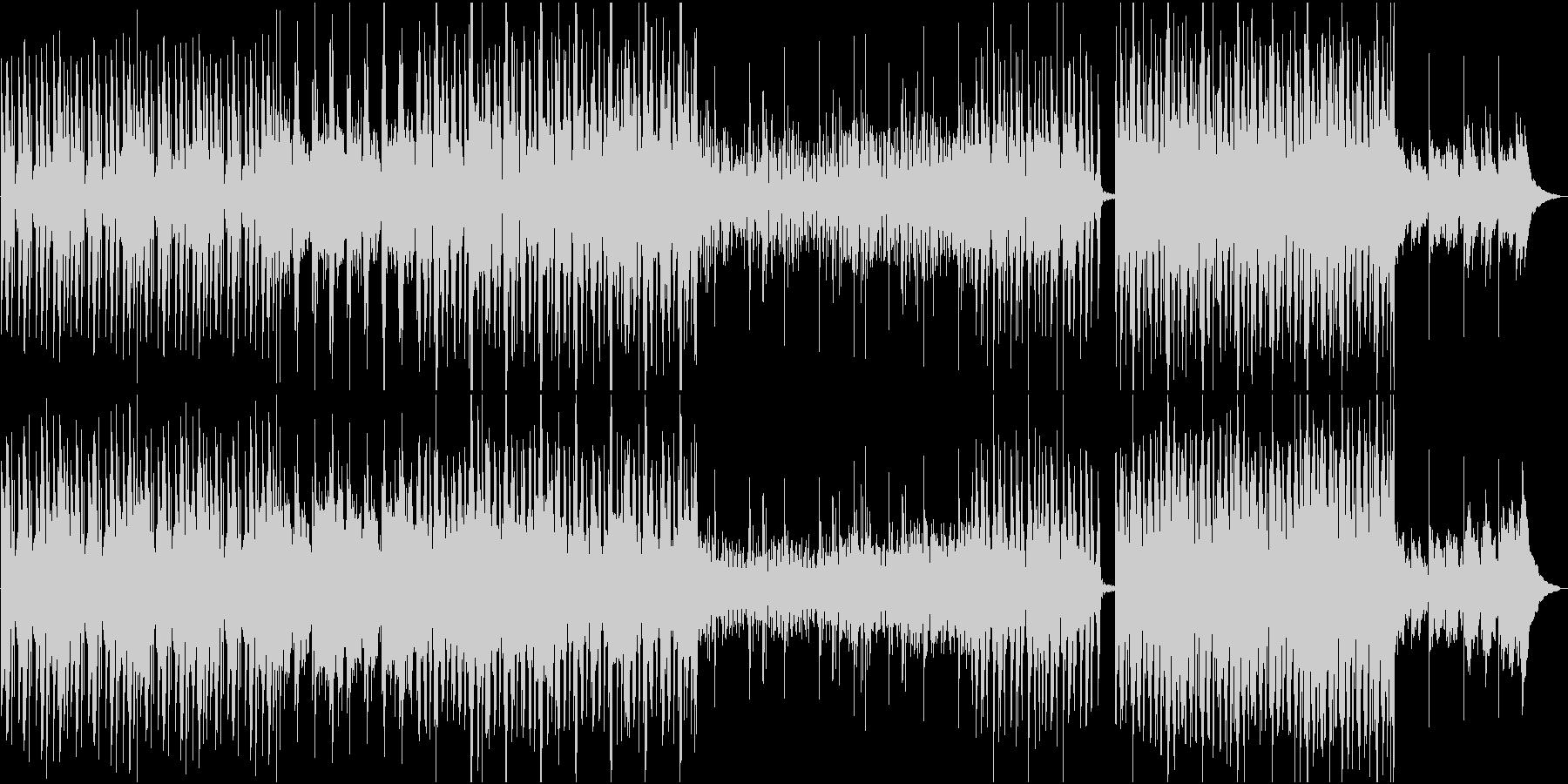 アンビエント、エレクトロニカ系BGMの未再生の波形