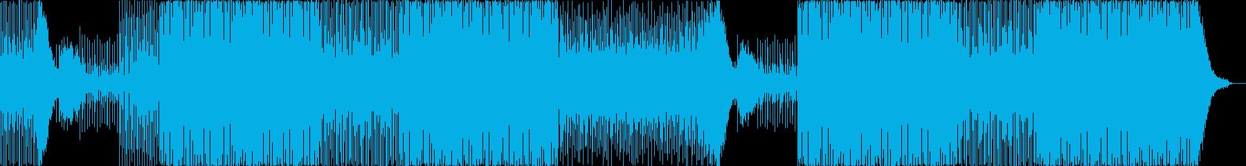 ギターカッティングがファンキーなEDMの再生済みの波形