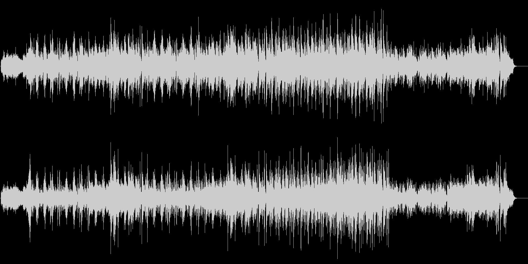 スモークやゴンドラでの登場を想定したBGの未再生の波形