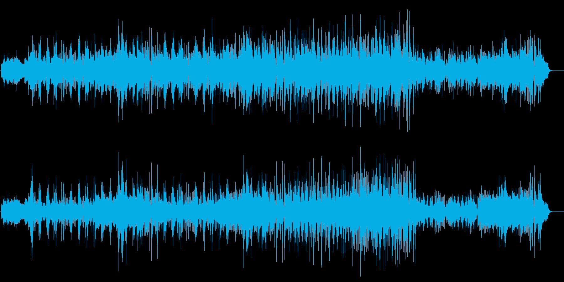 スモークやゴンドラでの登場を想定したBGの再生済みの波形