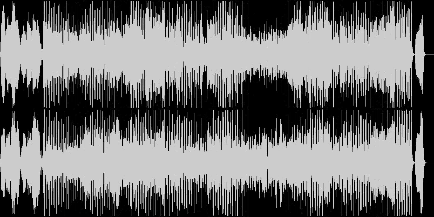 オーケストラ企業向 働く人々への応援歌の未再生の波形