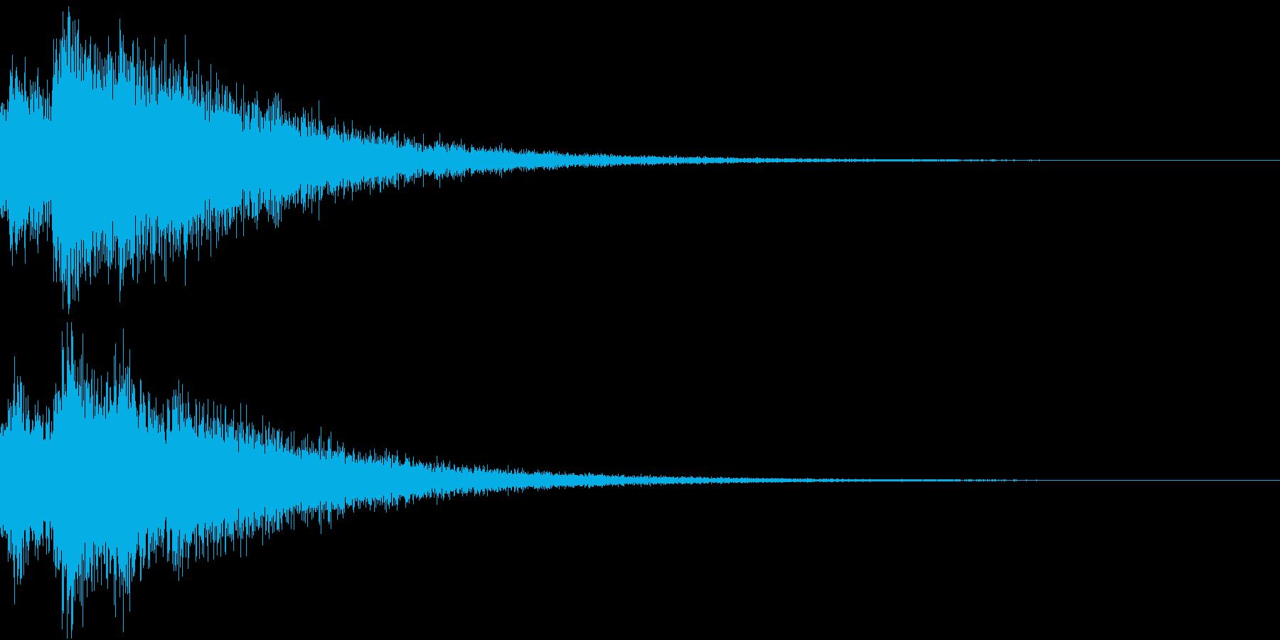 TV RADIO SFX7 結果発表前の再生済みの波形