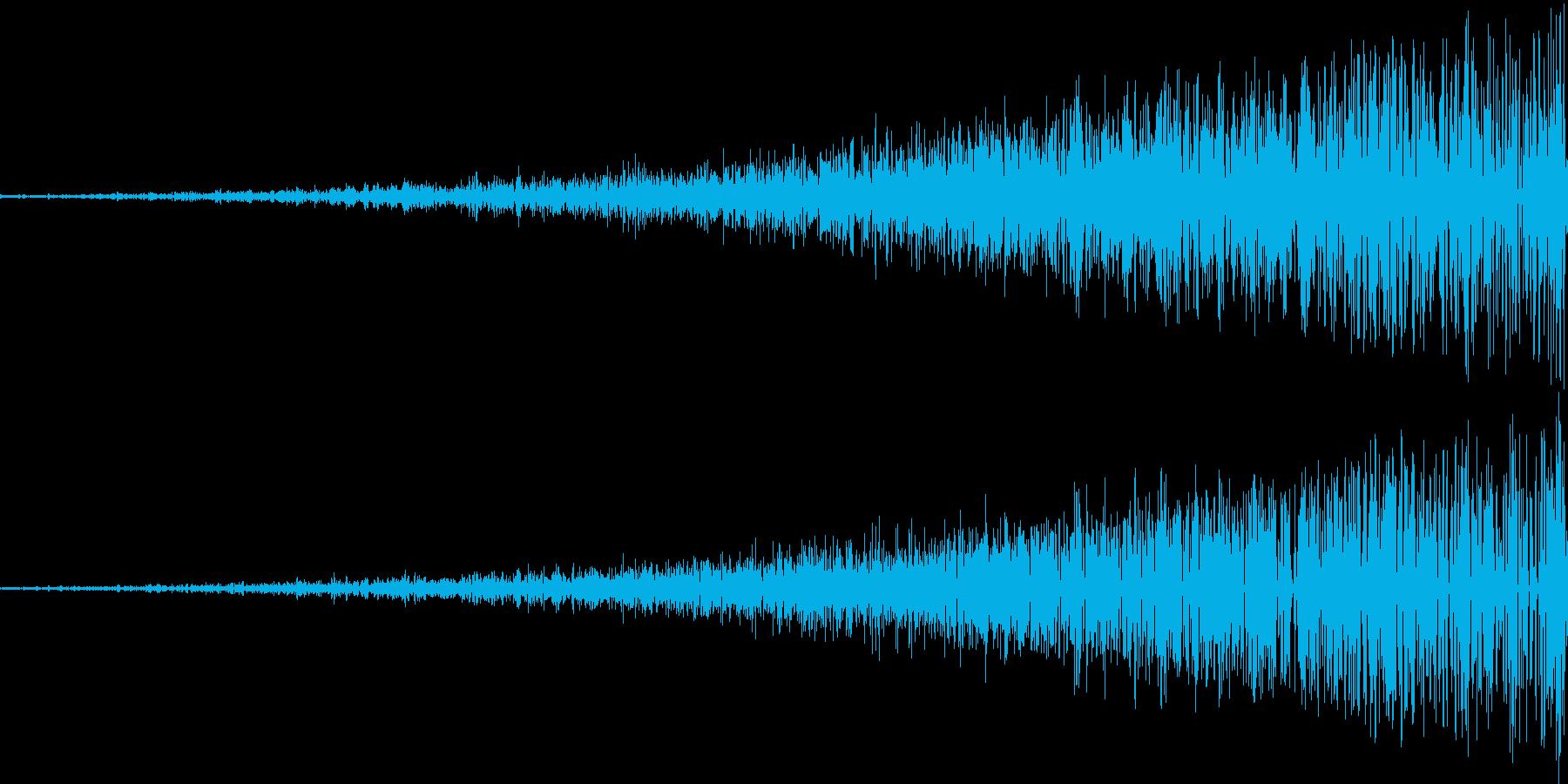 ヒュー (風の魔法)の再生済みの波形