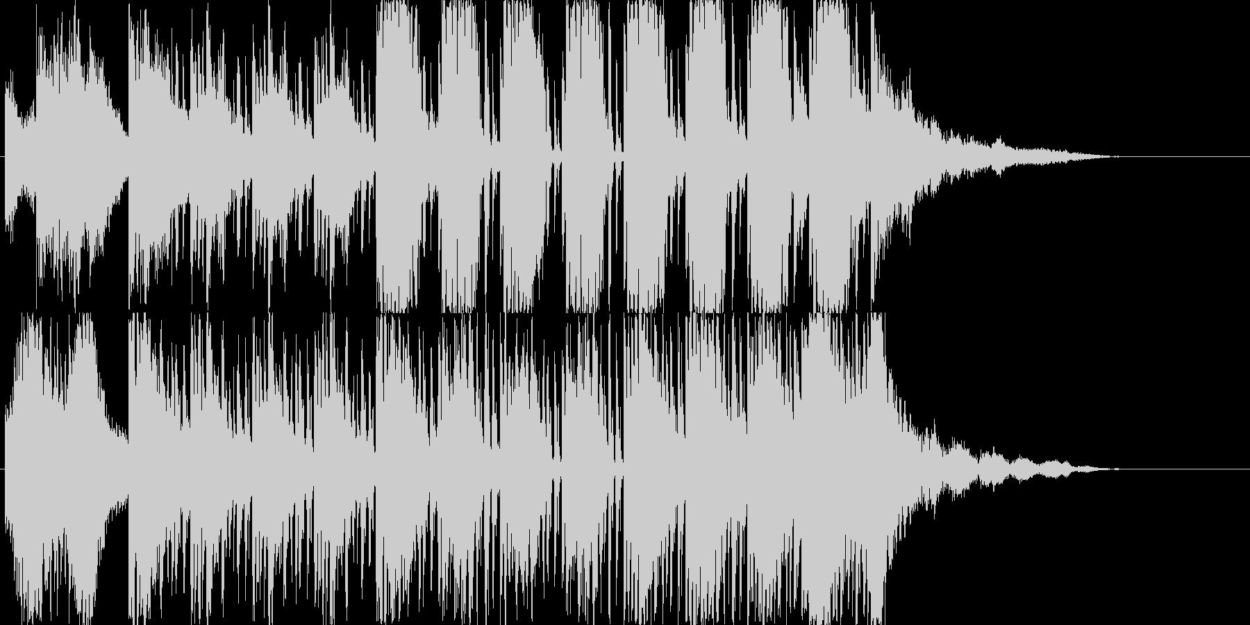 ゲームやダンスなどに使用出来る曲です。…の未再生の波形