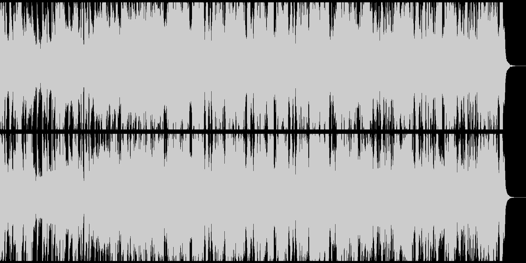 Brostep bpm140の未再生の波形