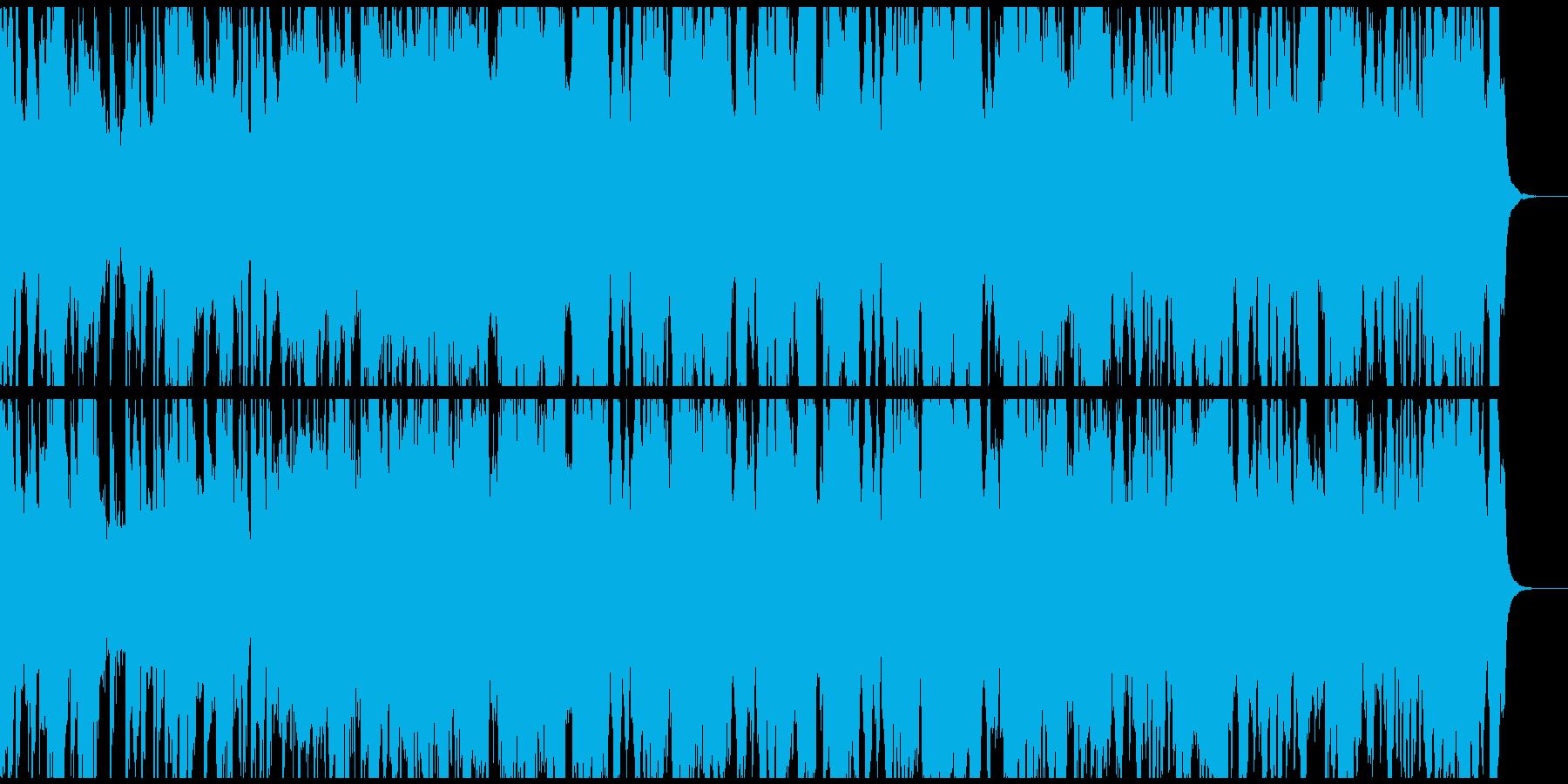 Brostep bpm140の再生済みの波形