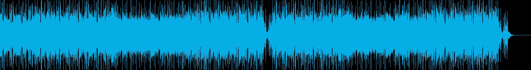 日常感あふれるほのぼのとした楽曲の再生済みの波形