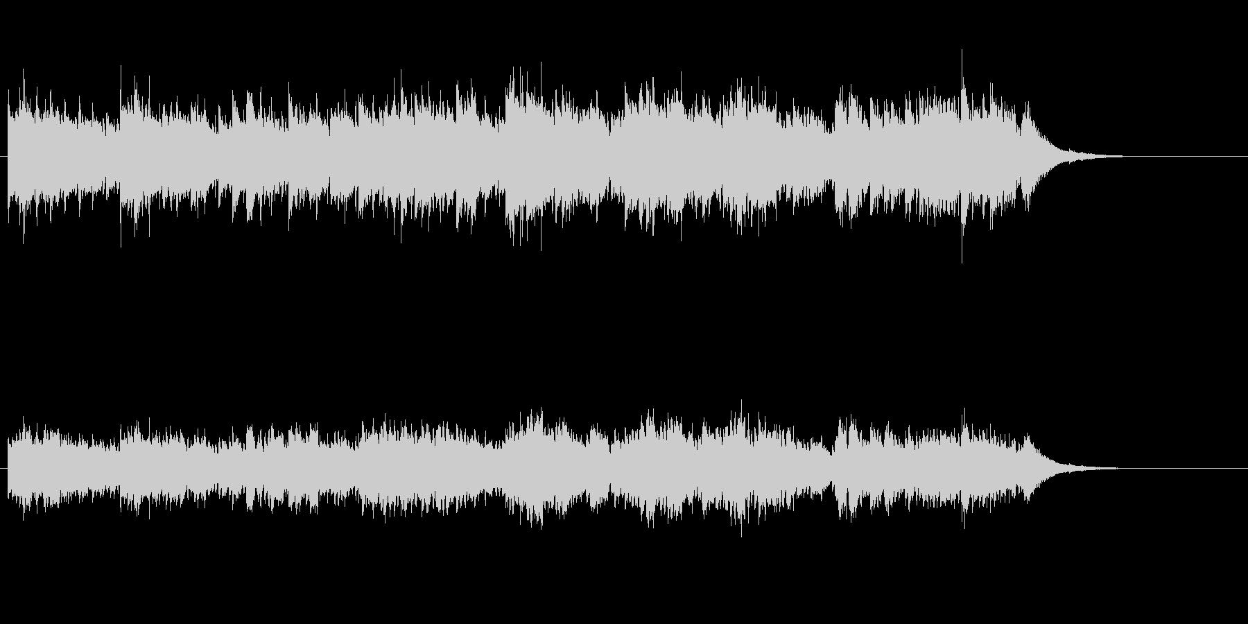 アコースティック・サウンドの未再生の波形