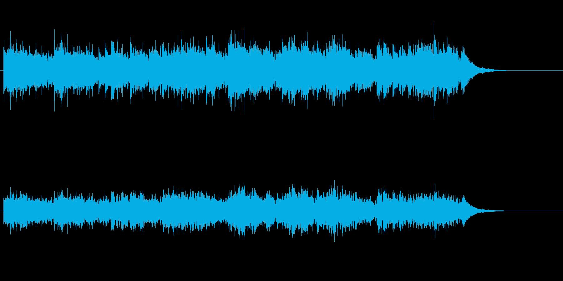 アコースティック・サウンドの再生済みの波形