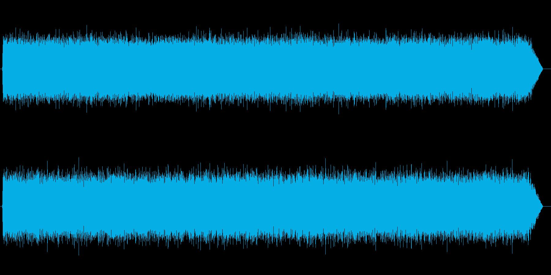 砂嵐効果音 高め テレビのノイズ サーの再生済みの波形