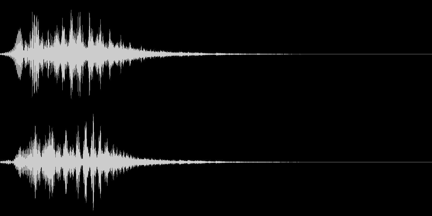 キュルキュル2 大きくなる 変身 演出の未再生の波形