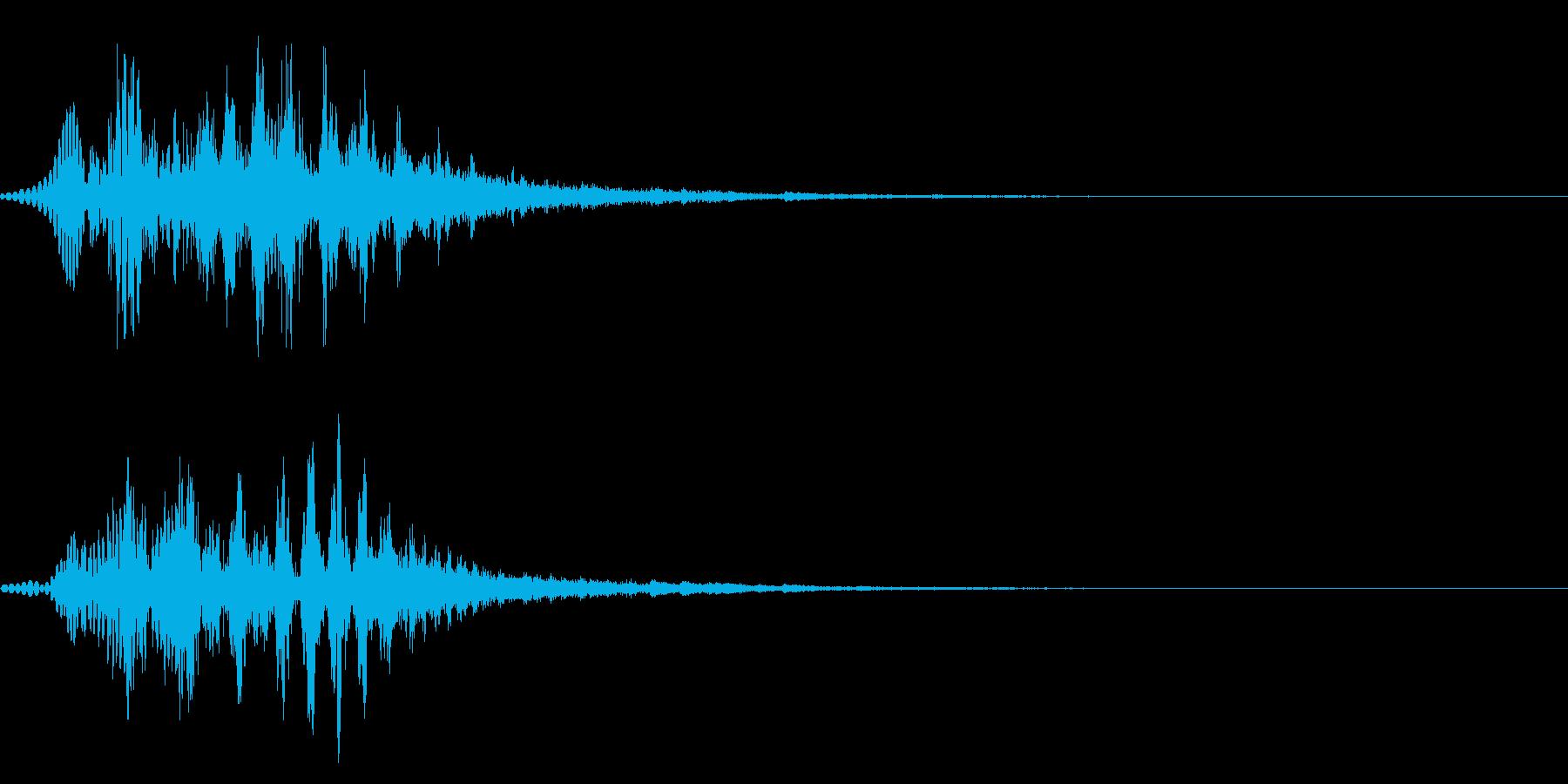 キュルキュル2 大きくなる 変身 演出の再生済みの波形