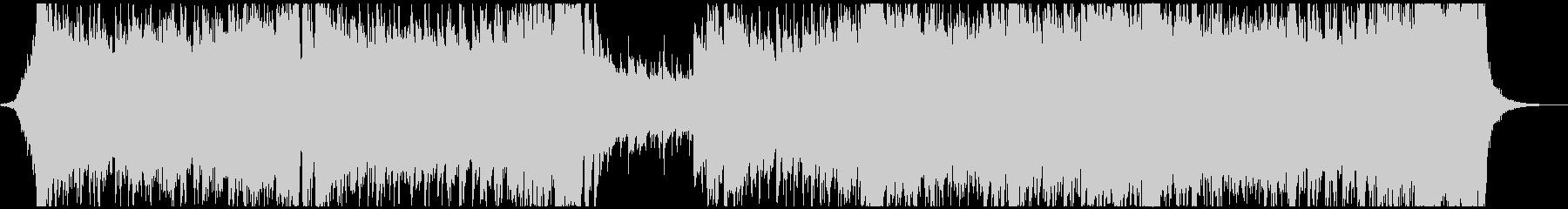 オーケストラ基調のドラマチックなポップスの未再生の波形