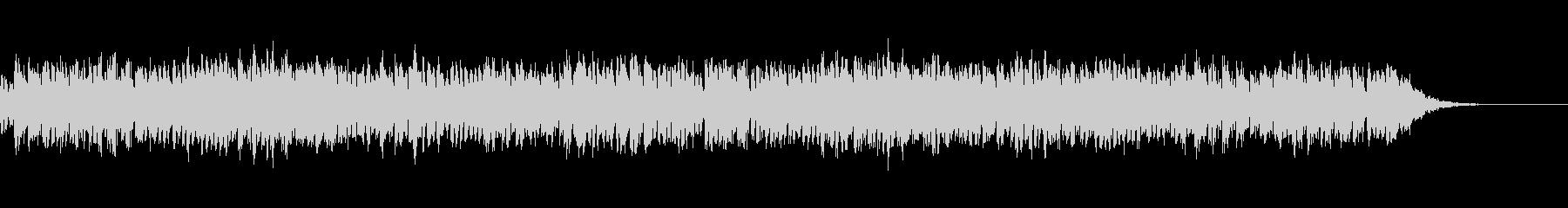 シンセによるシンプルな1曲の未再生の波形