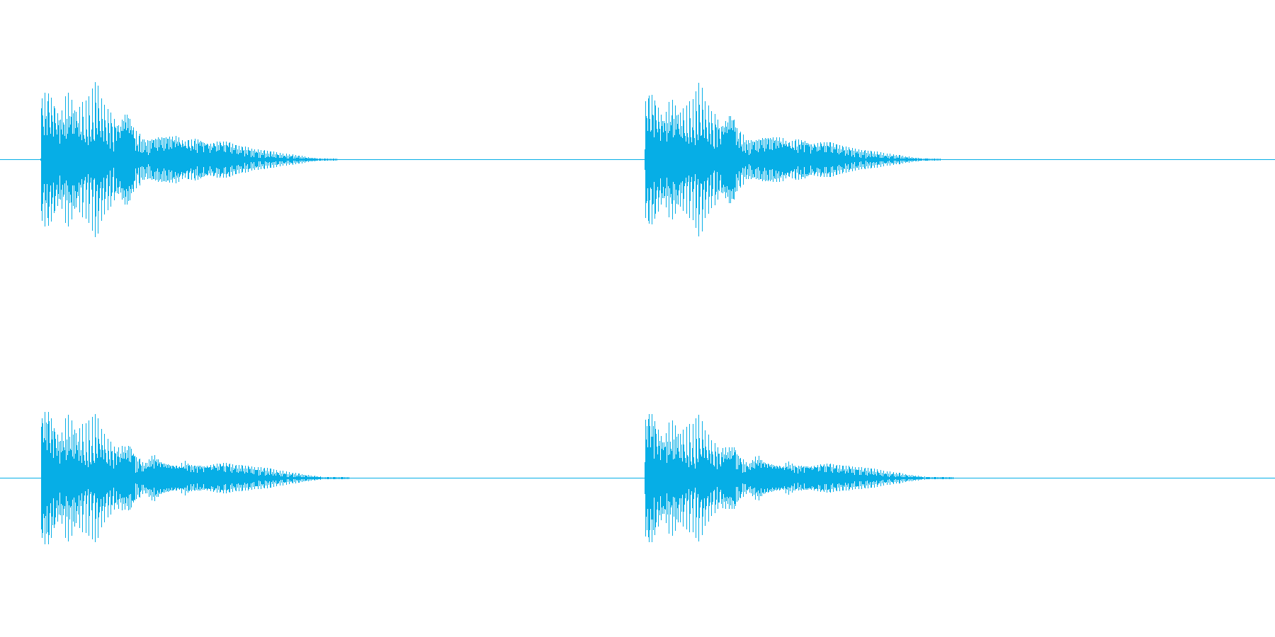 ポヨーン ポヨーン (ムックリの音)の再生済みの波形