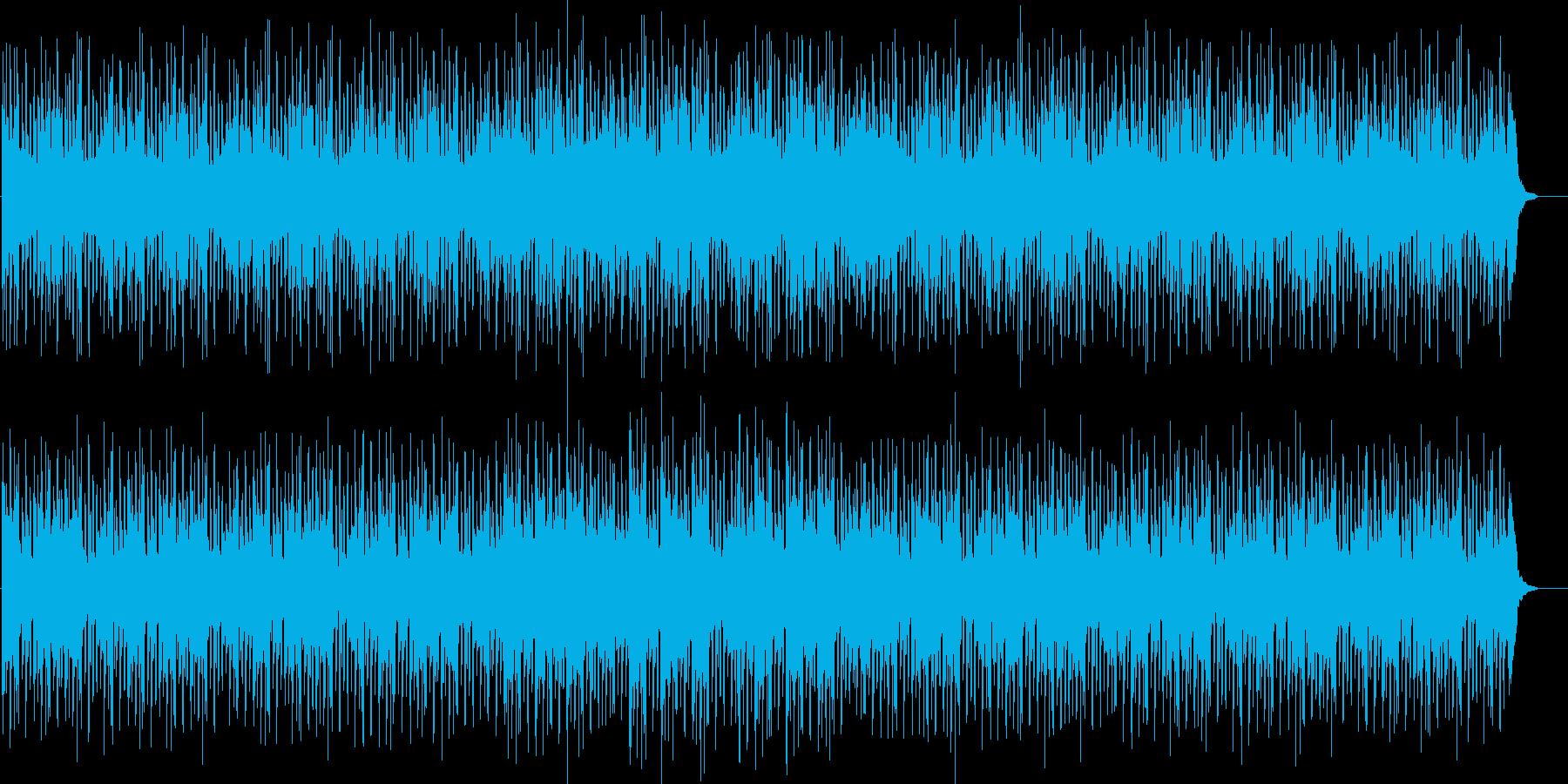 大人でジャジーなしっとりBGMの再生済みの波形