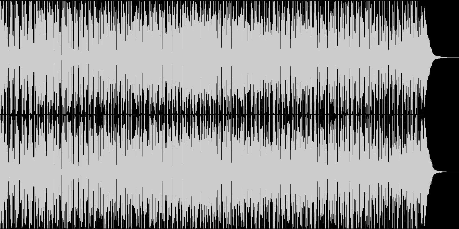 洋楽のダンスミュージックっぽいBGMの未再生の波形