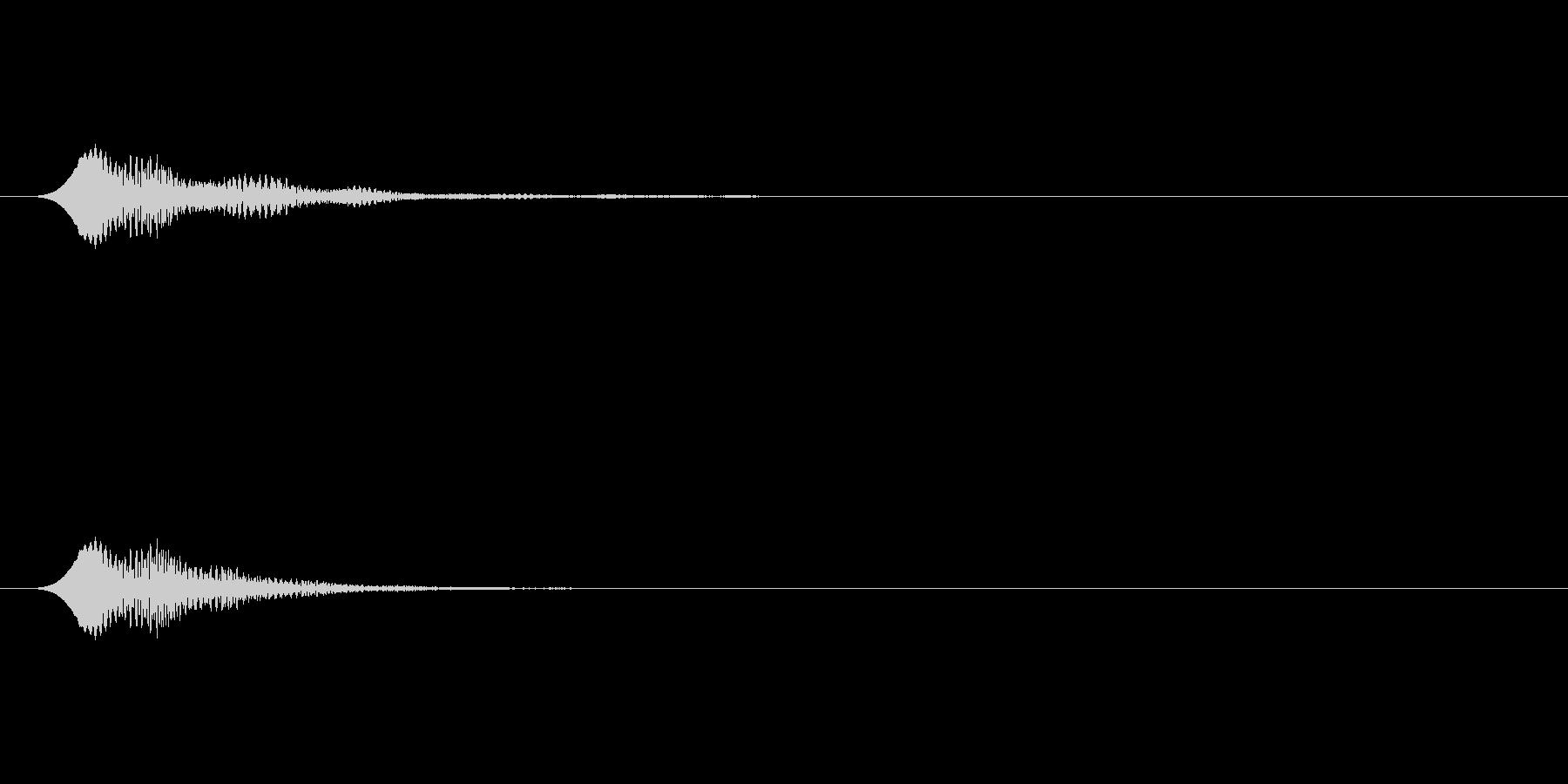 アイテムゲットやスタート音に使えるSEの未再生の波形