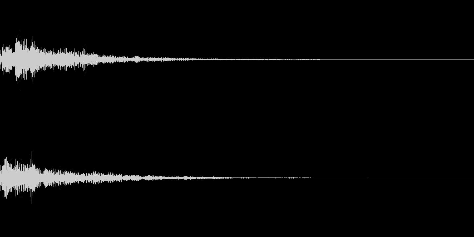ぽろん♪(連鎖01)の未再生の波形