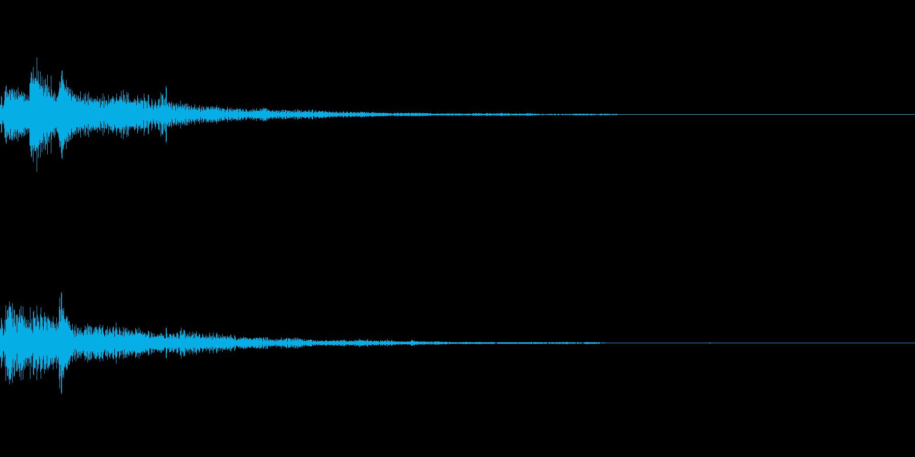 ぽろん♪(連鎖01)の再生済みの波形