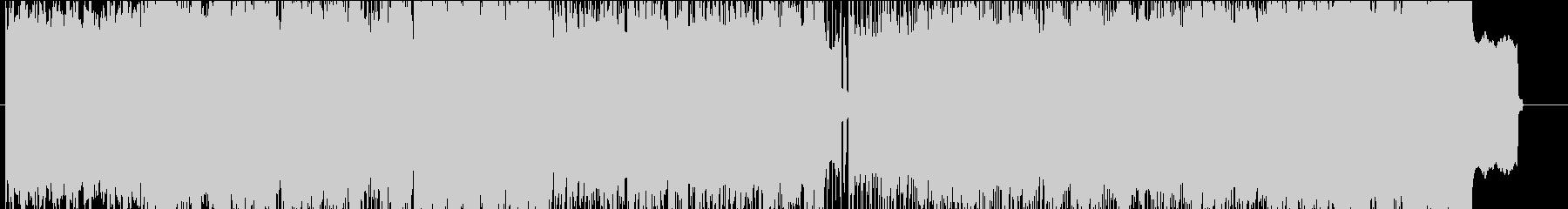 FM音源80年代風の未再生の波形