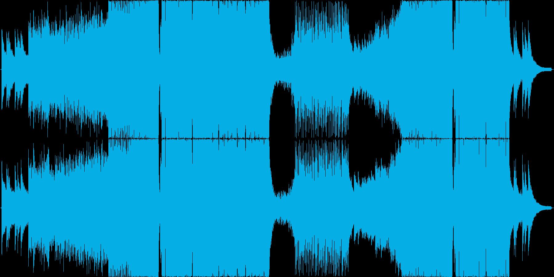 トランス系ダブステップの再生済みの波形