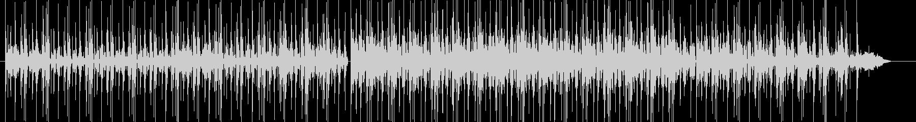 オーガニックなBGMの未再生の波形