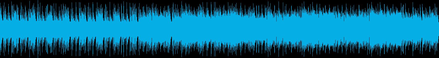 ループ・レトロゲーム風・重い空気のBGMの再生済みの波形