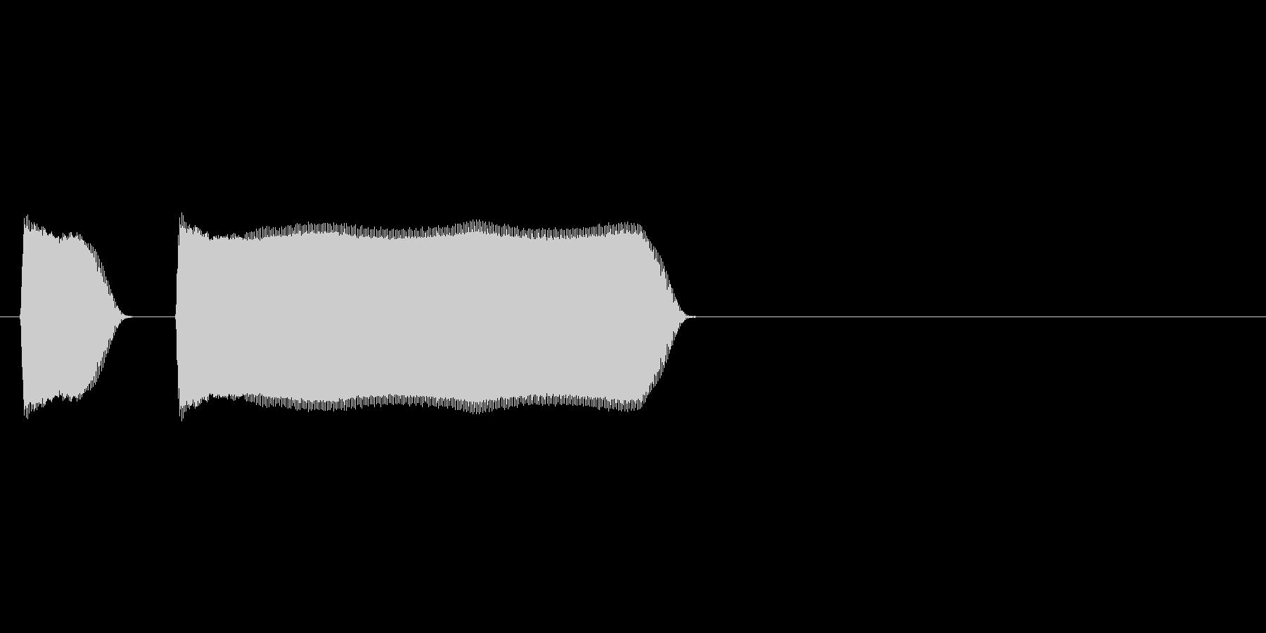 プップー(クラクション、車)の未再生の波形